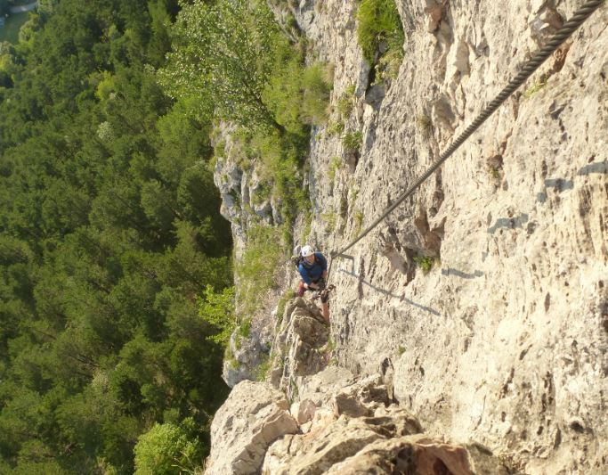 Pittentaler Klettersteig : Klettersteignachmittag am pittentaler klettersteig