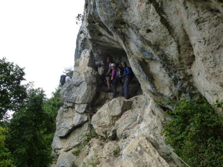 Hohe Wand Klettersteig : Hohe wand htl klettersteig d e völlerin steig a